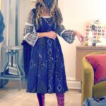 Sarah Jessica Parker in a Silver High Heel Shoes Attends Her SJP Collections Store in New York