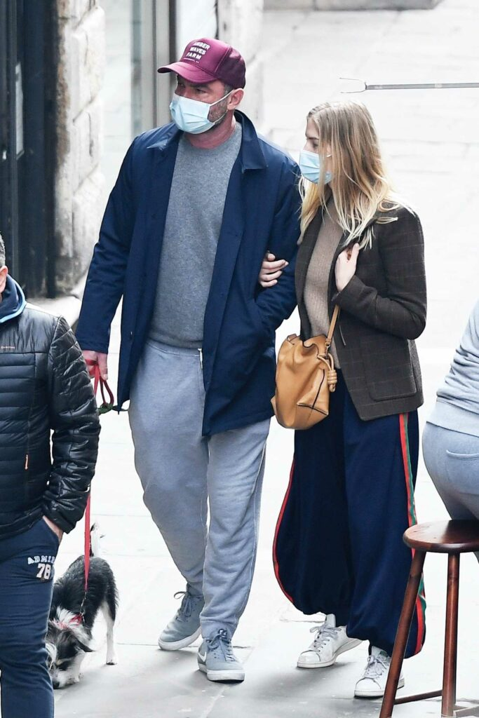 Taylor Neilson in a Blue Sweatpants