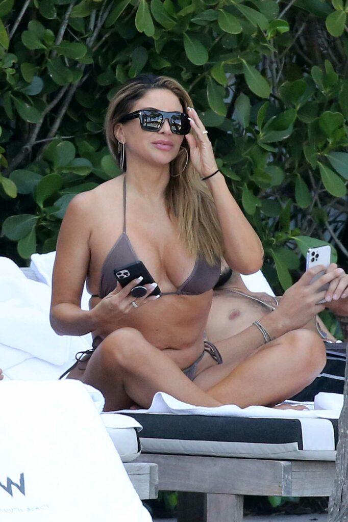 Larsa Pippen in Bikini