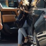 Sofia Vergara in a Black Blouse Does a Shopping Trip in Beverly Hills