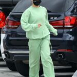 Cara Santana in a Green Sweatsuit Was Seen Out in West Hollywood