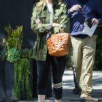 Laura Dern in a Green Jacket Was Seen Out in Santa Monica