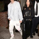 Megan Fox in a Black Leather Pants Was Seen Out for Dinner with Machine Gun Kelly in Los Angeles