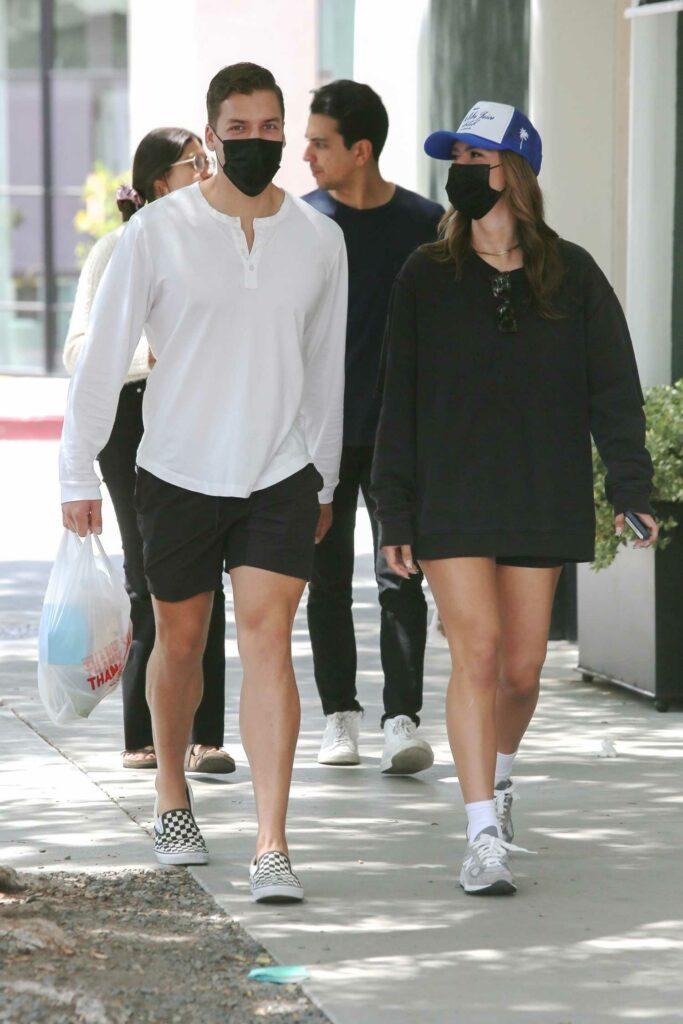 Nicky Dodaj in a Black Sweatshirt
