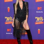 Heidi Klum Attends the MTV Movie and TV Awards at the Hollywood Palladium in Los Angeles