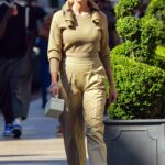 Karlie Kloss in a Yellow Pants Was Seen Out in New York