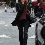Kate Moss in a Black Blazer Was Seen Out in Soho, London