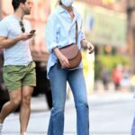 Katie Holmes in a Protective Mask Was Seen Out in New York