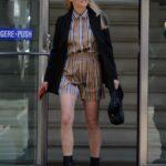 Michelle Hunziker in a Black Blazer Was Seen Out in Milan