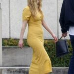 Jennifer Lawrence in a Yellow Dress Was Seen Out with Cooke Maroney in New Orleans