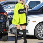 Kesha in a Neon Green Belenciaga Jacket Was Seen Out in Malibu