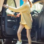 Whitney Port in a Yellow Outfit Was Seen Out in Studio City