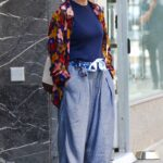 Sharon Stone in an Oversized-Baggy Pants Was Seen Out in Manhattan's Madison Avenue in NYC