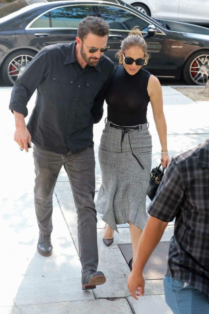 Ben Affleck in a Black Shirt