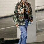 Gwen Stefani in a Green Tie-Dye Jacket Was Seen Out in Beverly Hills