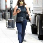 Jennifer Garner in a Black Tank Top Was Spotted Out in New York City