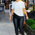 Addison Rae in a White Tee Was Seen Out in New York City