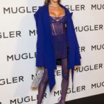 Alessandra Ambrosio Attends the Thierry Mugler: Couturissime Photocall in Paris