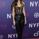 Dakota Johnson Attends The Lost Daughter Premiere During the 59th New York Film Festival in New York