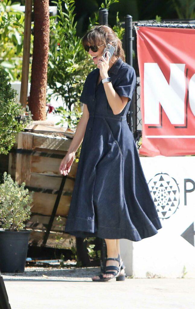 Jennifer Garner in a Black Dress
