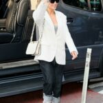 Jennifer Lopez in a White Blazer Was Seen Out in New York City