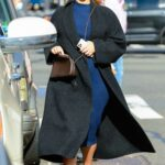 Jennifer Lawrence in a Black Coat Was Seen Out in Manhattan in New York