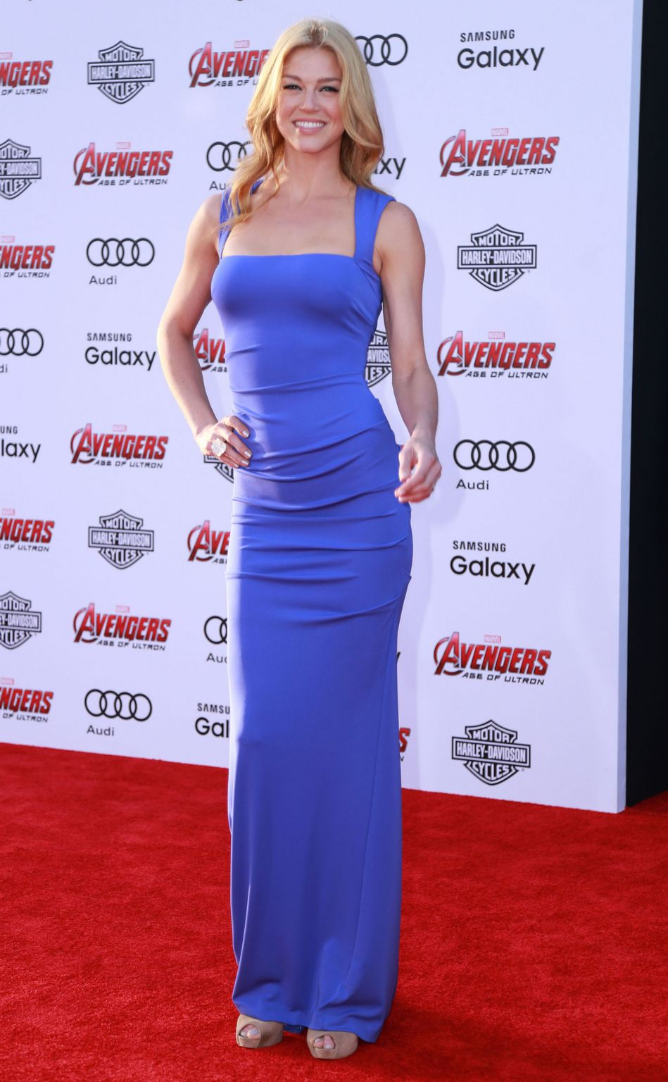 Adrianne Palicki At Avengers: Age Of Ultron Los Angeles Premiere-1
