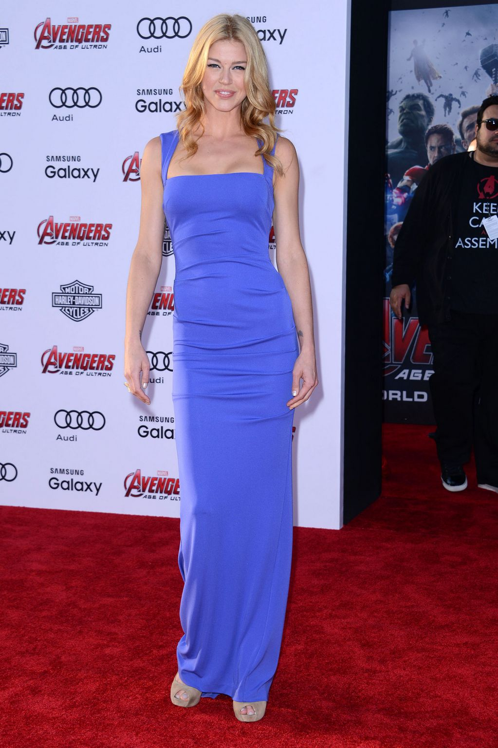 Adrianne Palicki At Avengers: Age Of Ultron Los Angeles Premiere-3