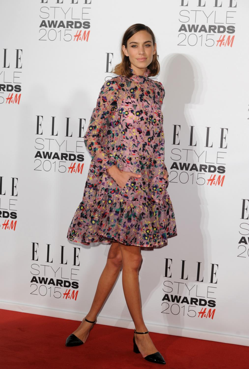 Alexa Chung attends ELLE Style Awards -1