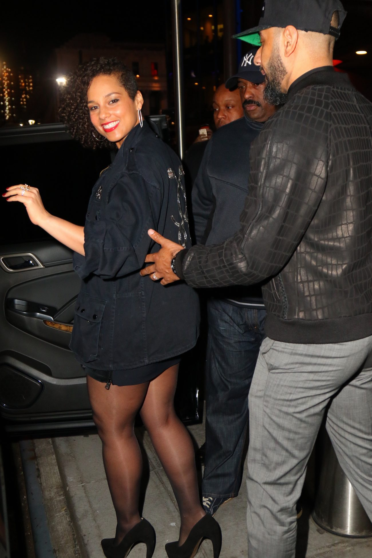Alicia Keys and Swizz Beatz arrive to The Musket Room-3