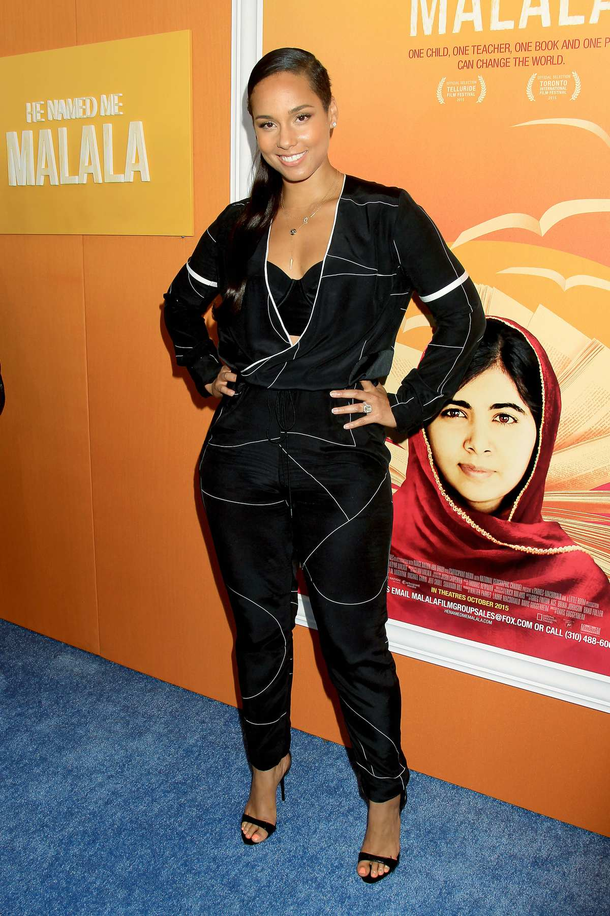 Alicia Keys at He Named Me Malala NY Premiere-1