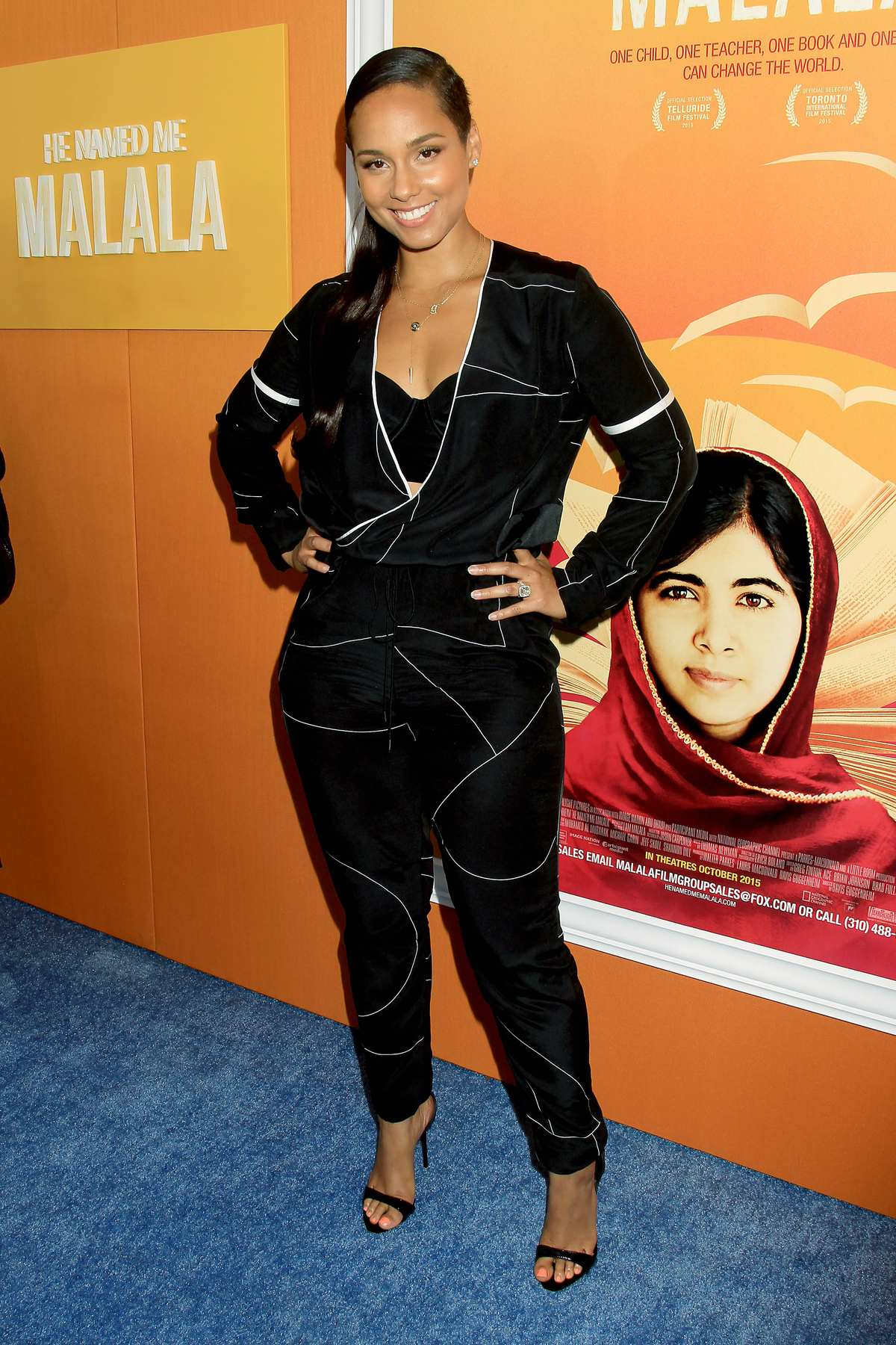 Alicia Keys at He Named Me Malala NY Premiere-2