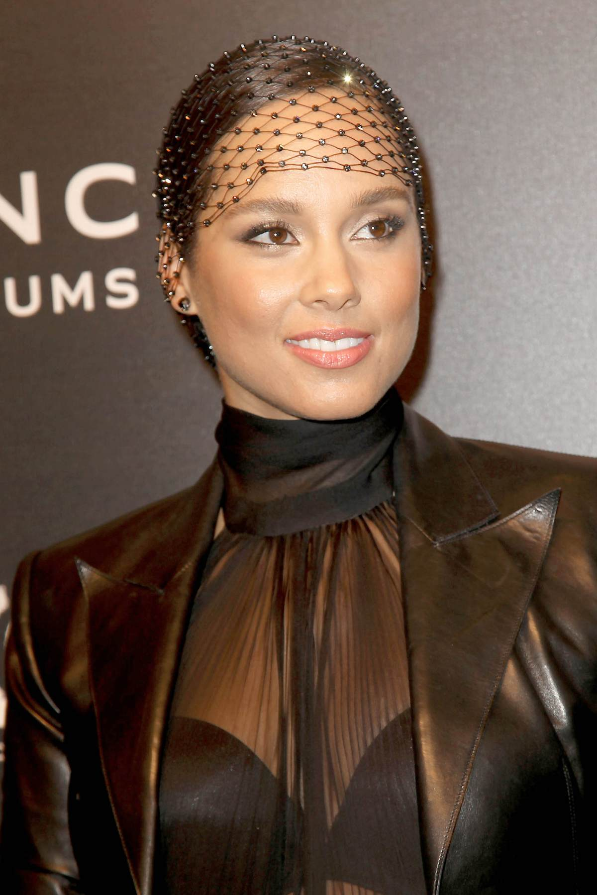 Alicia Keys Wears Sheer Outfit To Annual Black Ball-1