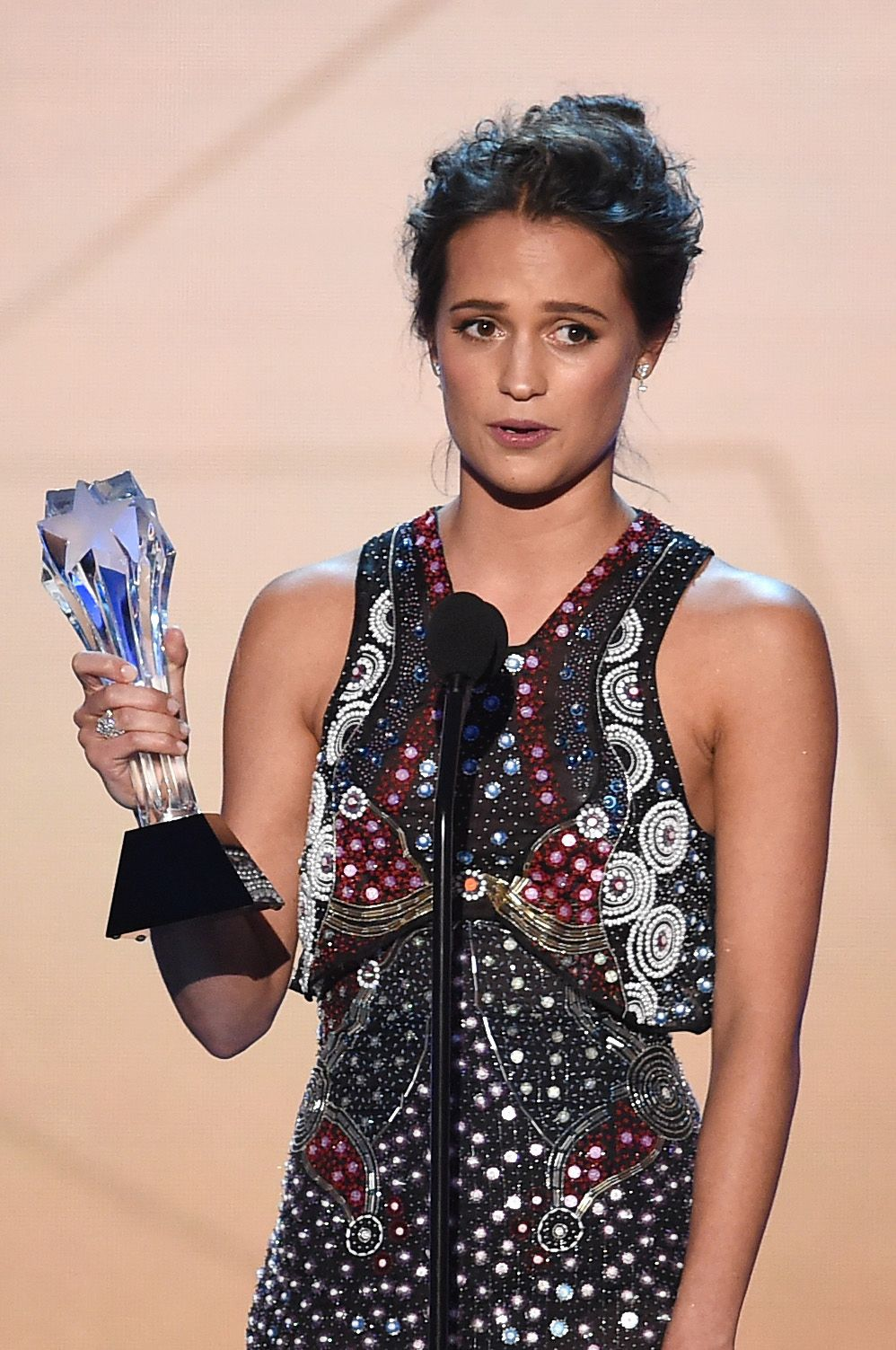 Alicia Vikander at Annual Critics Choice Awards-1