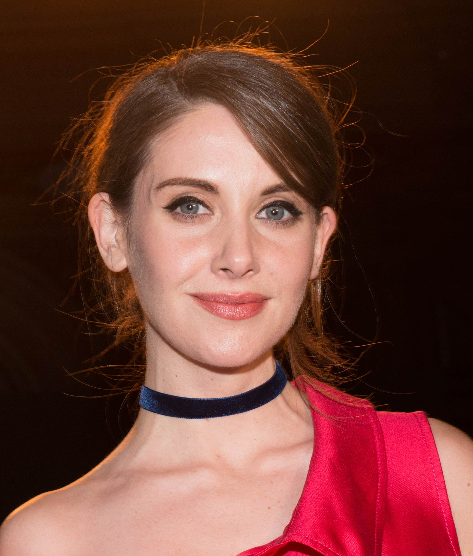 Alison Brie at Monse Front Row New York Fashion Week-1