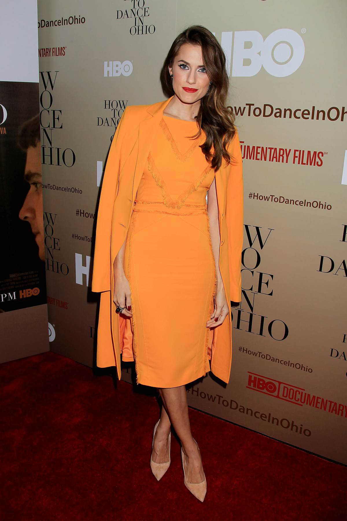 Allison Williams at How To Dance In Ohio Premiere-2
