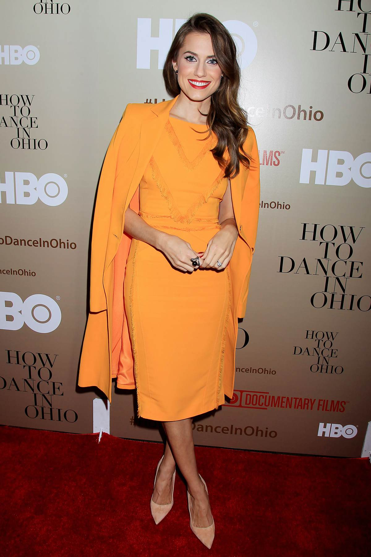 Allison Williams at How To Dance In Ohio Premiere-3