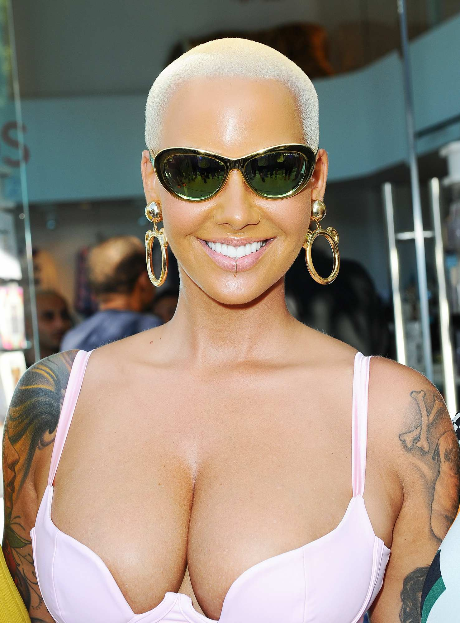 Speaking, would blac chyna and amber rose think