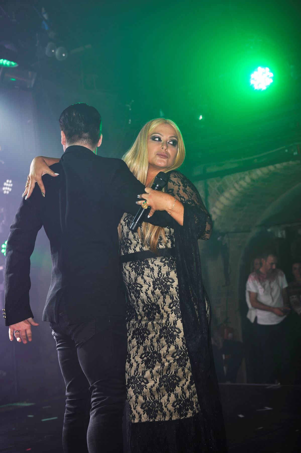 Anastacia performing at G-A-Y at Heaven Night Club on Halloween Day!-1