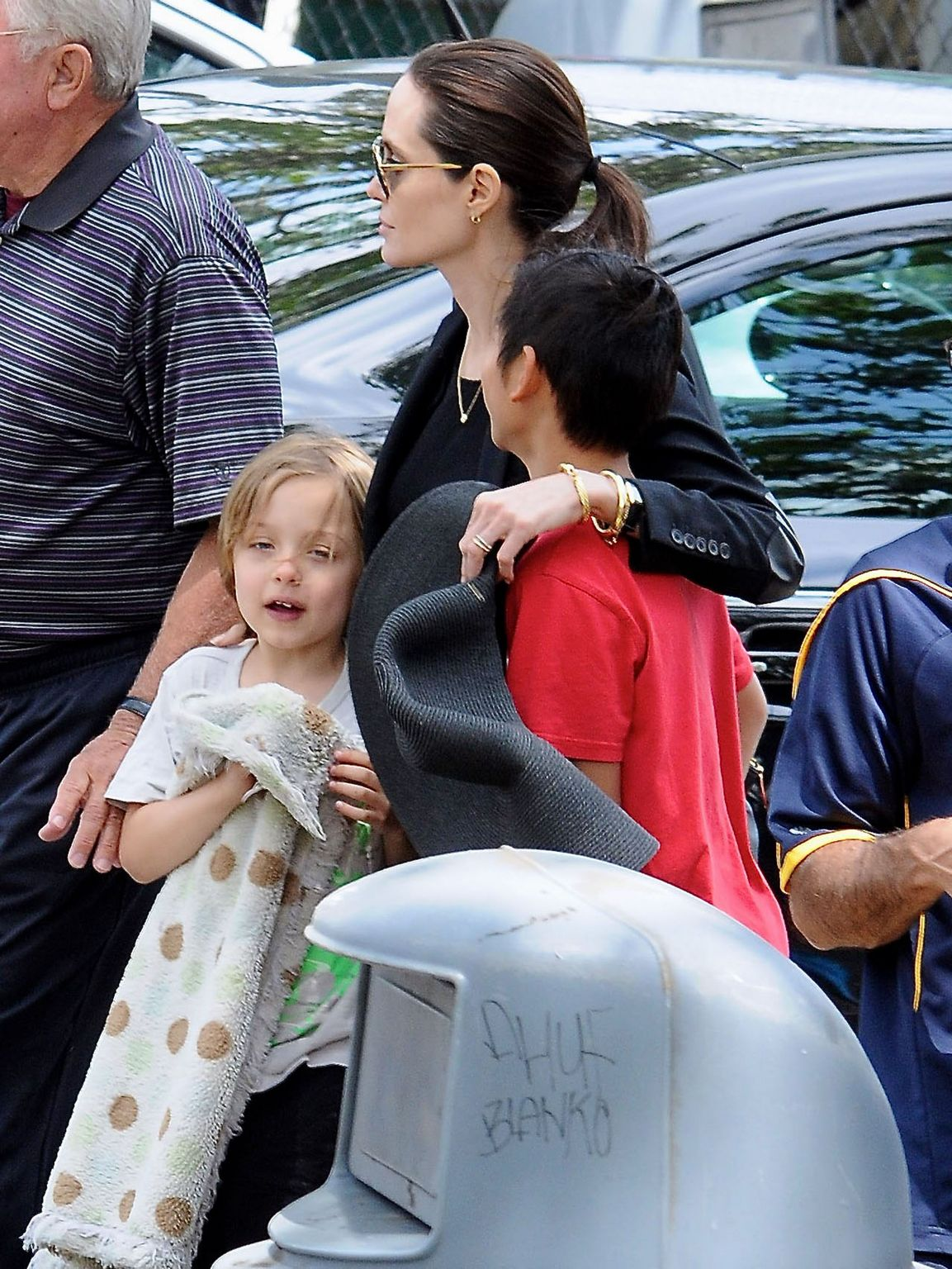 Angelina Jolie and Her Kids in Los Angeles-4