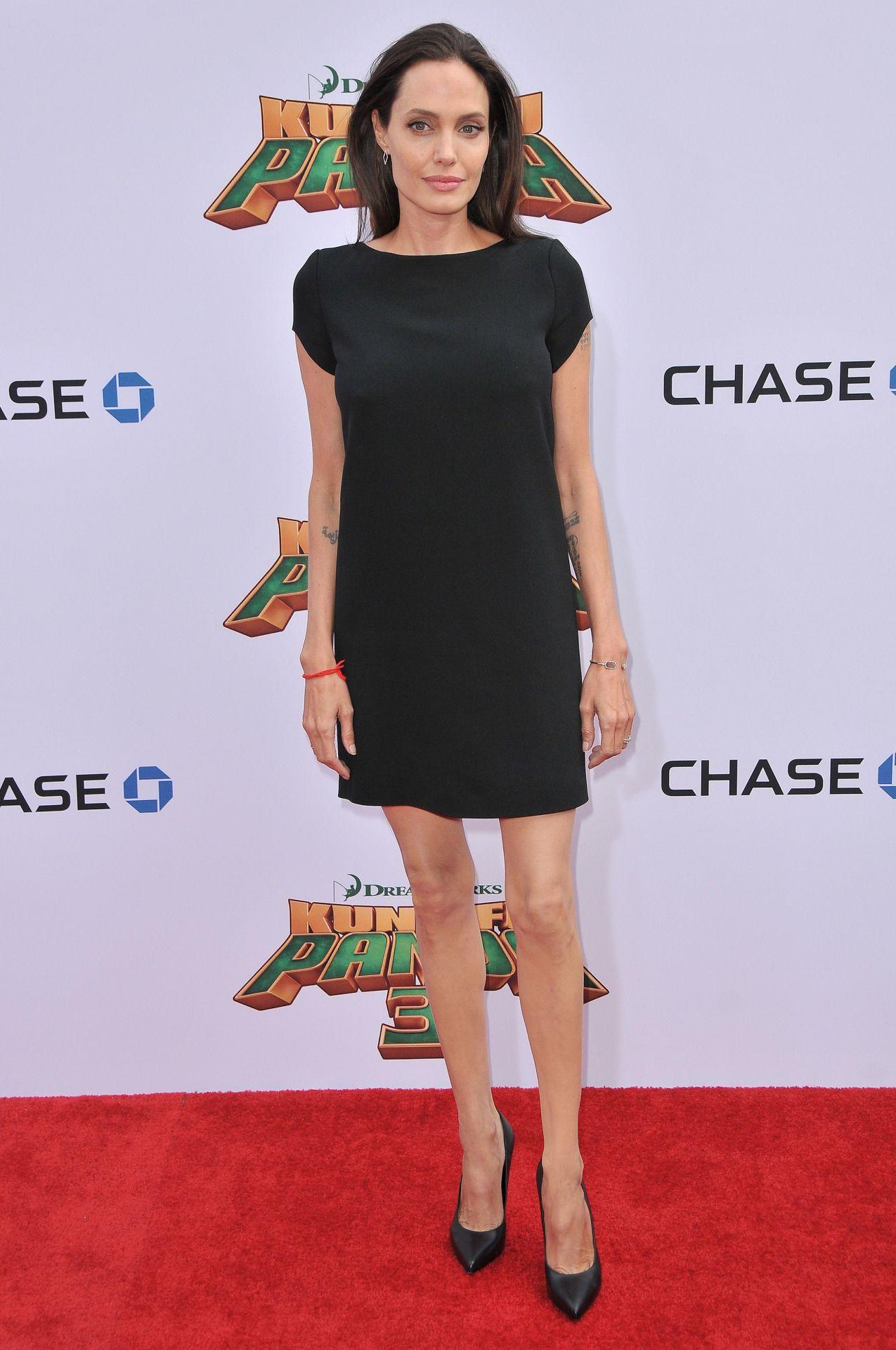 Angelina Jolie arrives at Kung Fu Panda Premiere-2