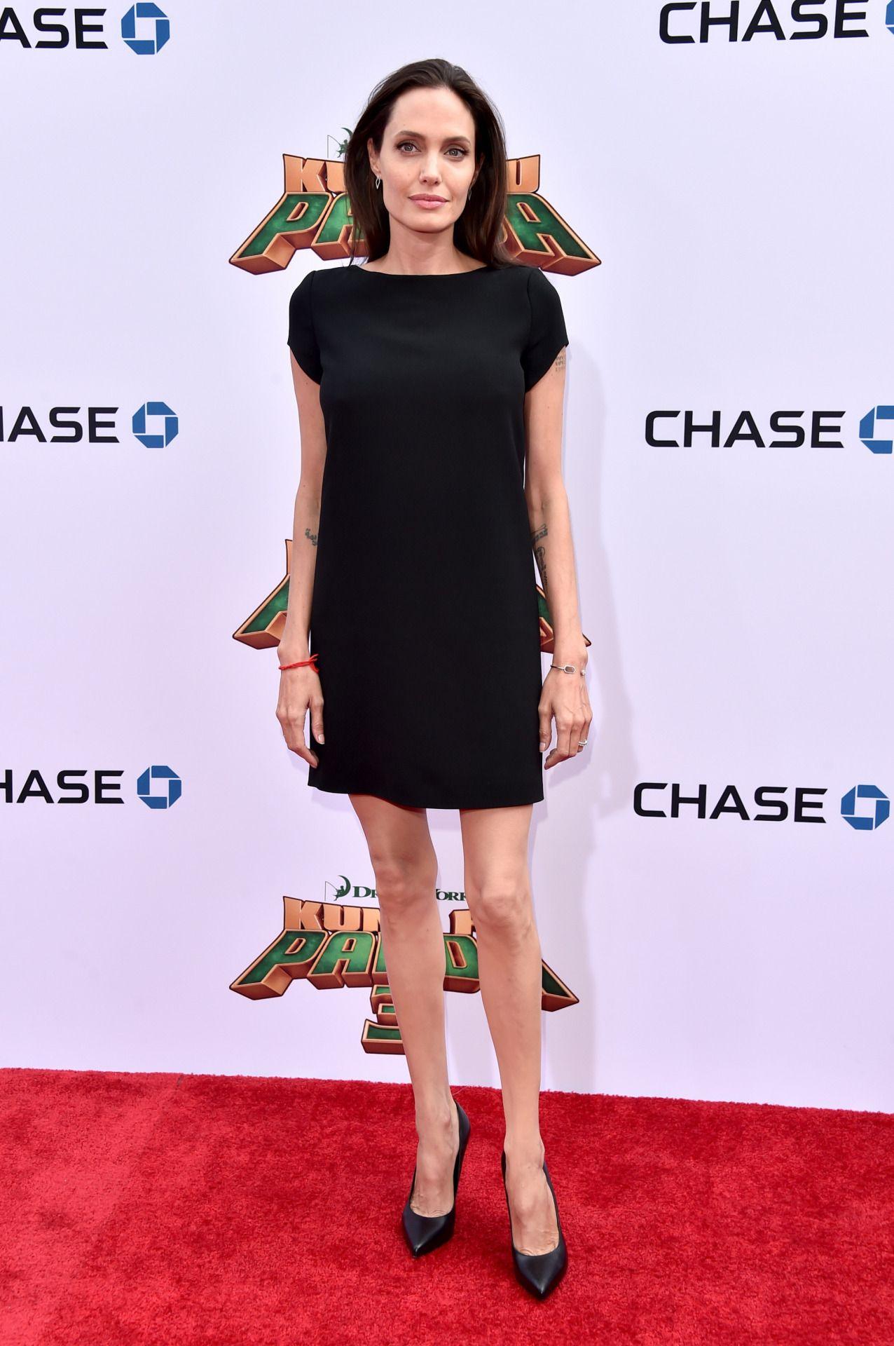 Angelina Jolie arrives at Kung Fu Panda Premiere-3