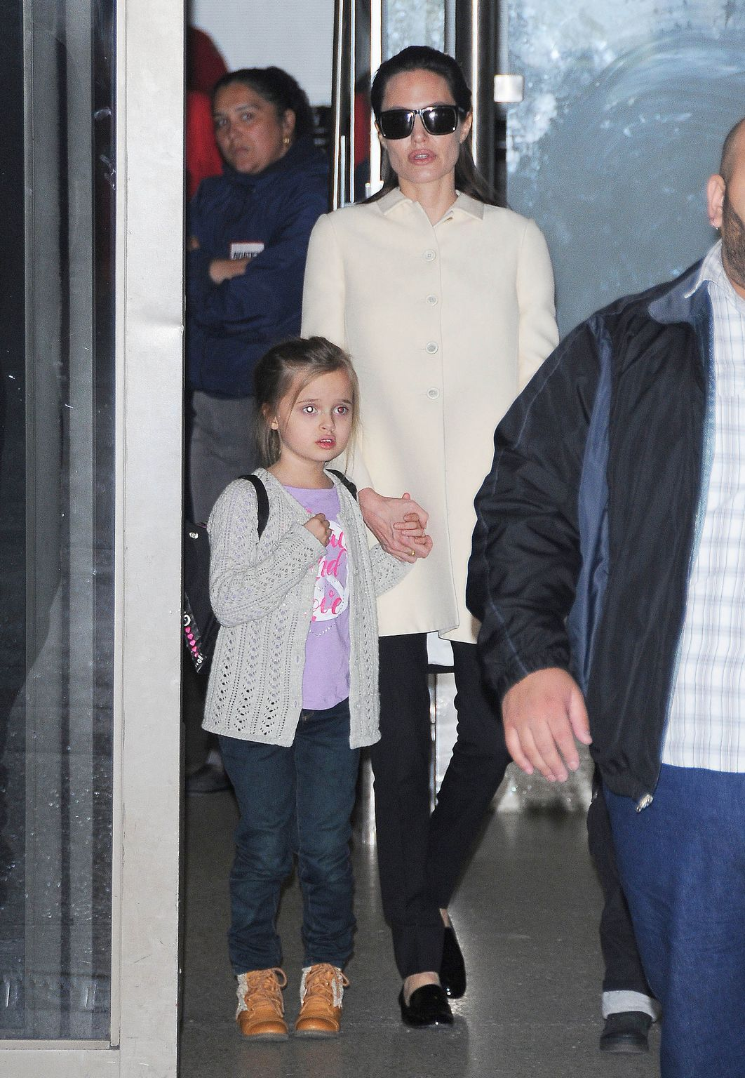 Angelina Jolie at LAX airport in Los Angeles-1