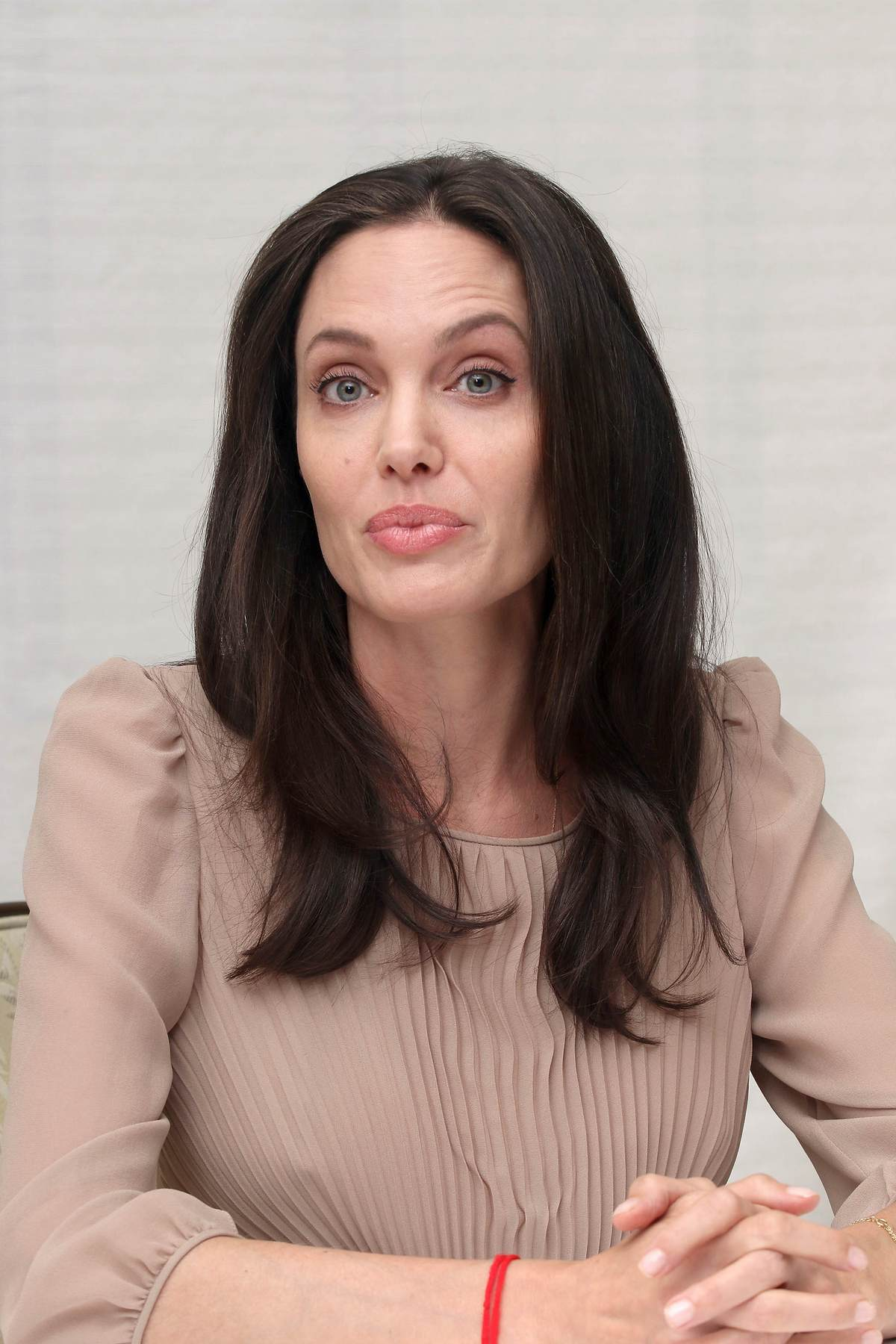 Angelina Jolie Attends By The Sea Press Conference-1