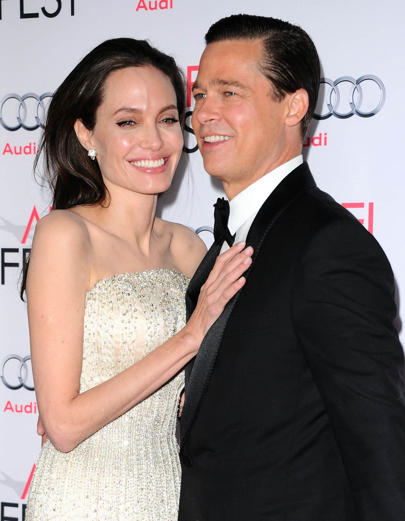 Angelina Jolie Pitt and Brad Pitt at By The Sea Opening Night Gala Premiere-1