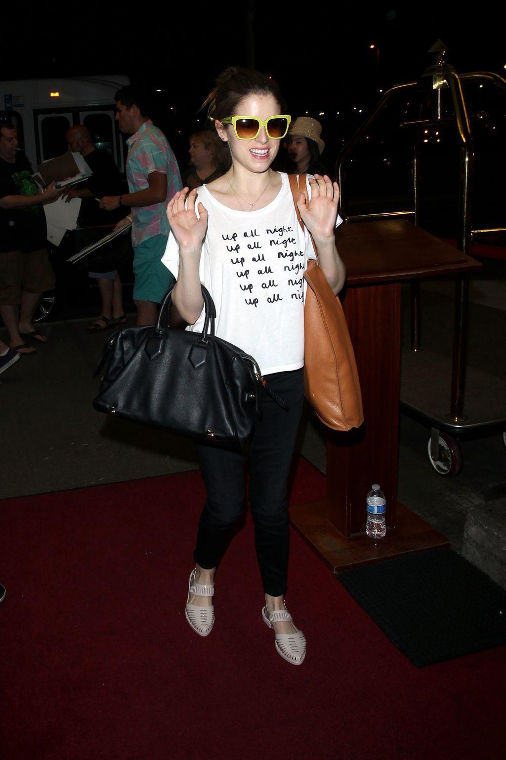 Anna Kendrick at LAX Airport-1