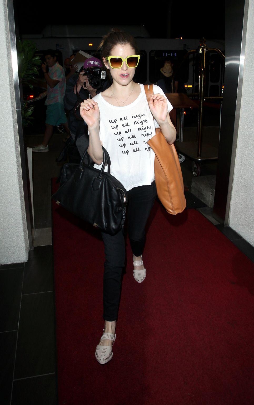 Anna Kendrick at LAX Airport-2