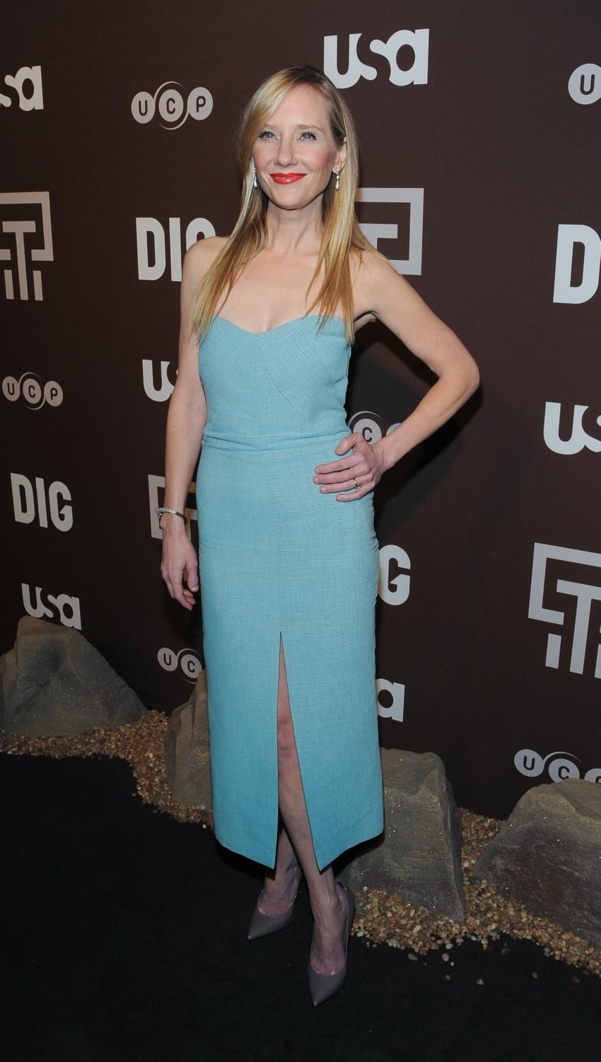 Anne Heche and Jason Issac at Dig Series New York Premiere