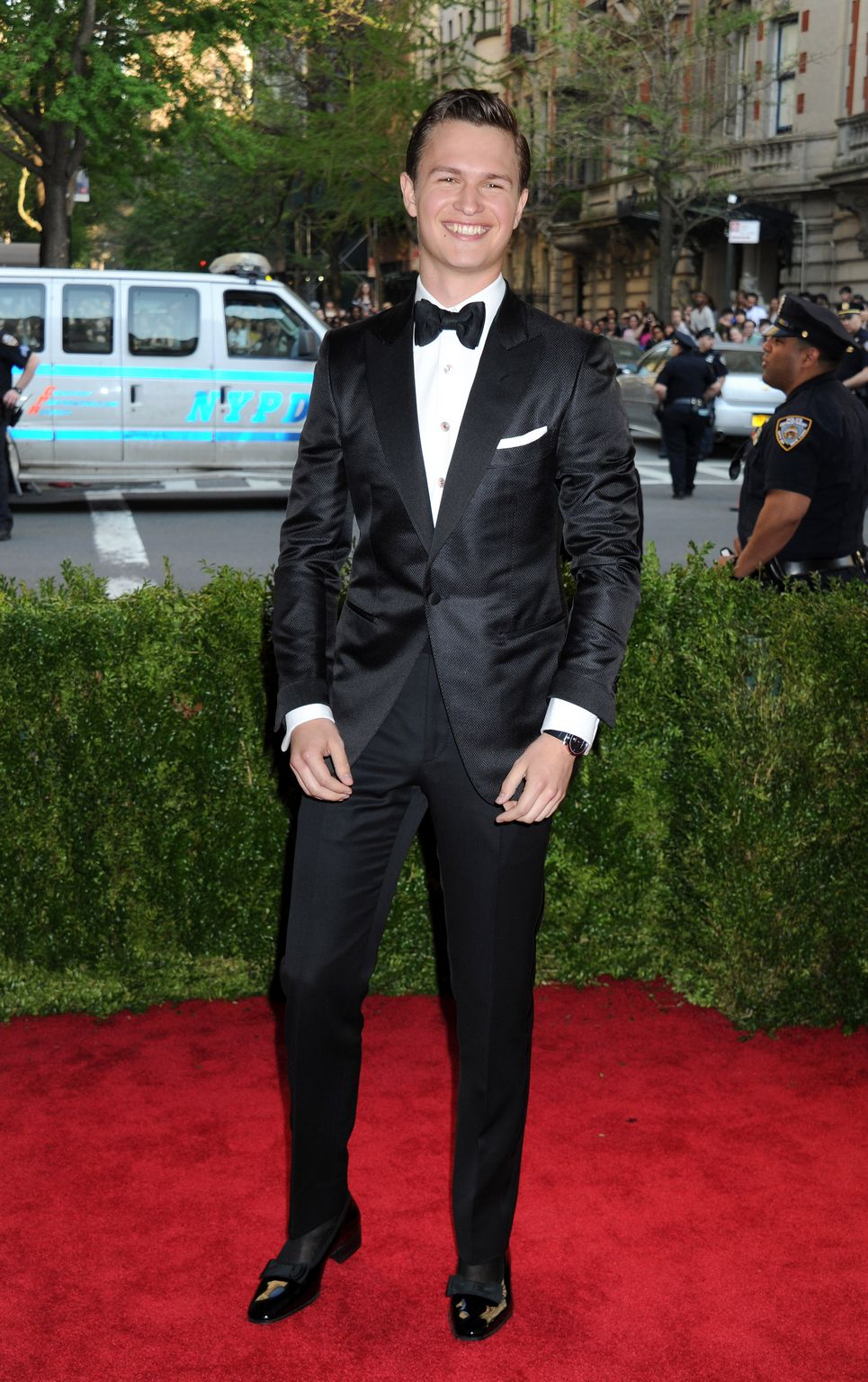 Ansel Elgort attendse China: Through The Looking Glass Costume Institute Benefit Gala ate Metropolitan Museum of Art on , in New York City.-1