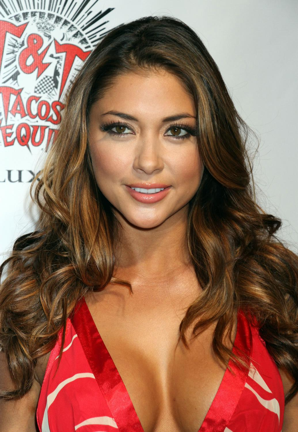 Arianny Celeste Hosts Arianny Celeste hosts a Cinco De o Fiesta at Tacos and Tequil